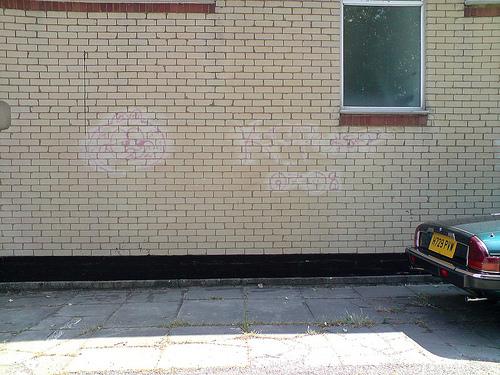 Nettoyer un graffiti fantôme